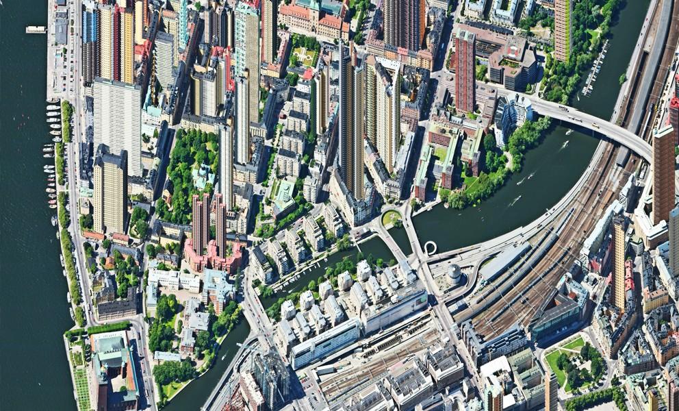 Aerial view – Kungsholmen