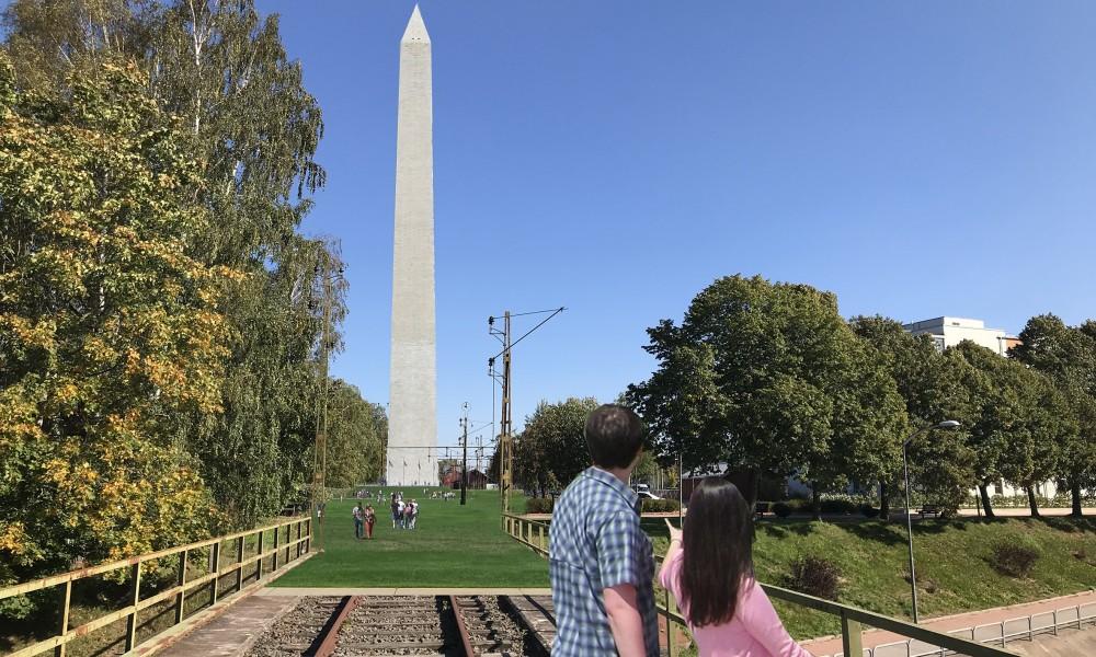 Tibro grand monument