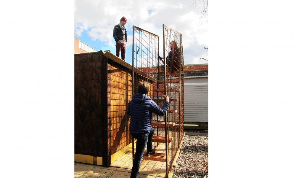 permit free staircase