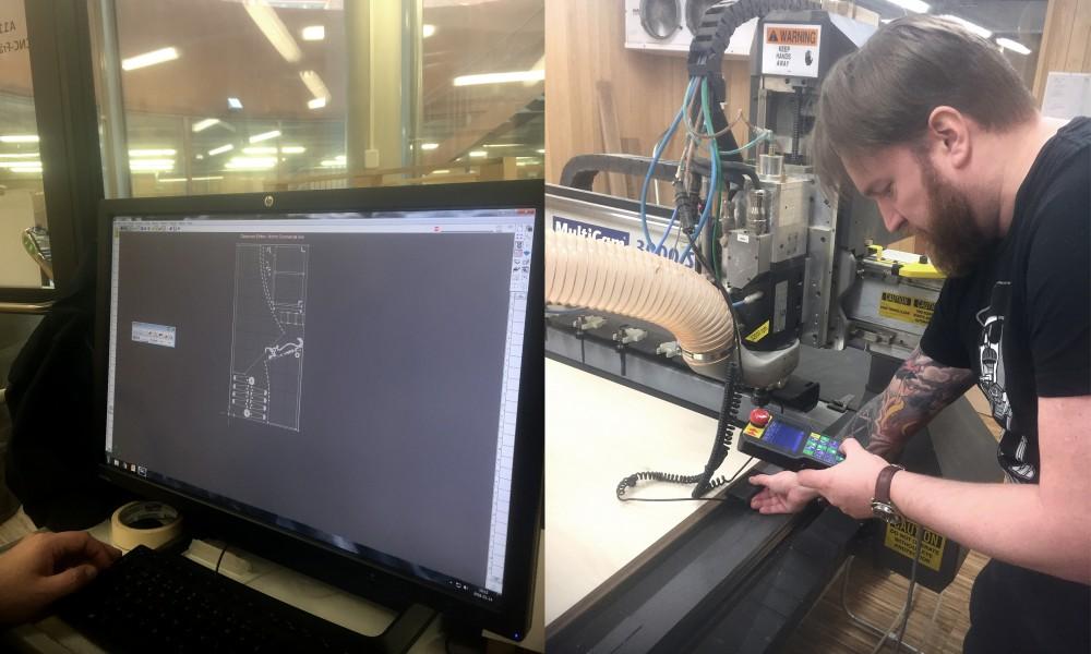 Martin programing the cnc mill