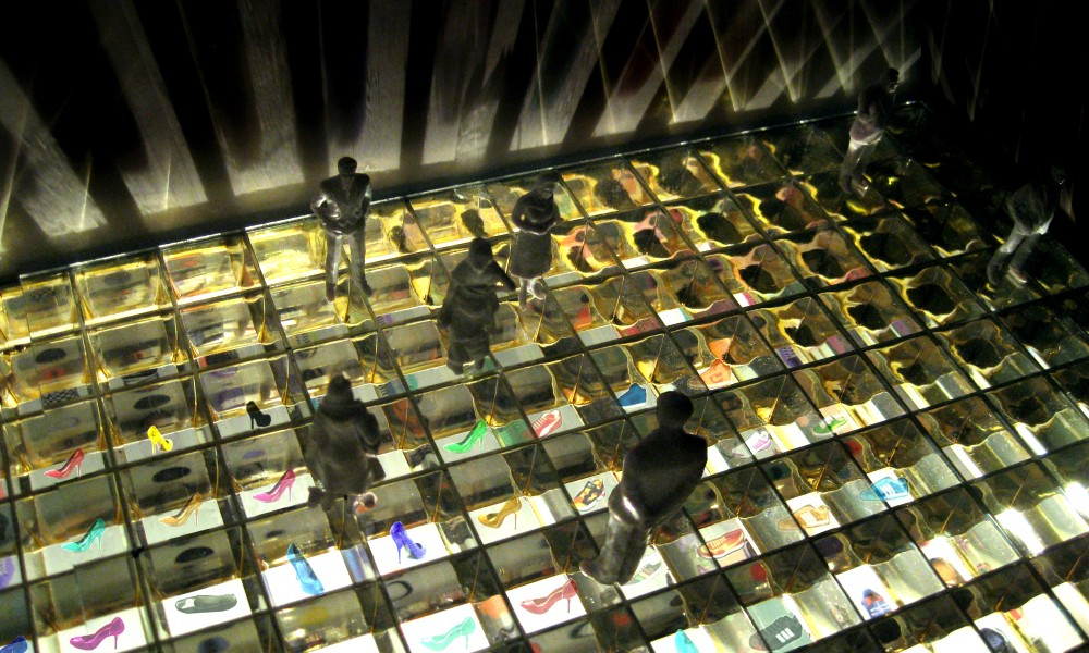 Model of the store, view from above