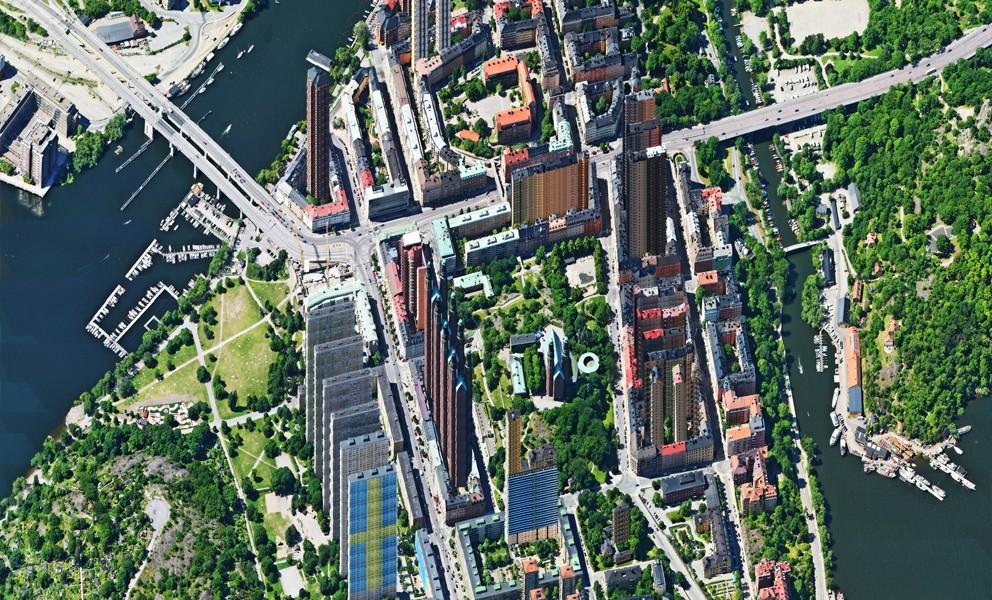 Aerial view – Hornstull