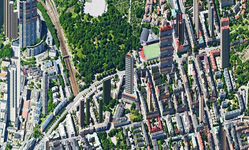 Aerial view – Zinkensdamm