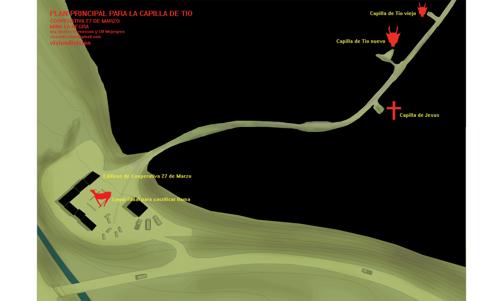 Plan of the mine