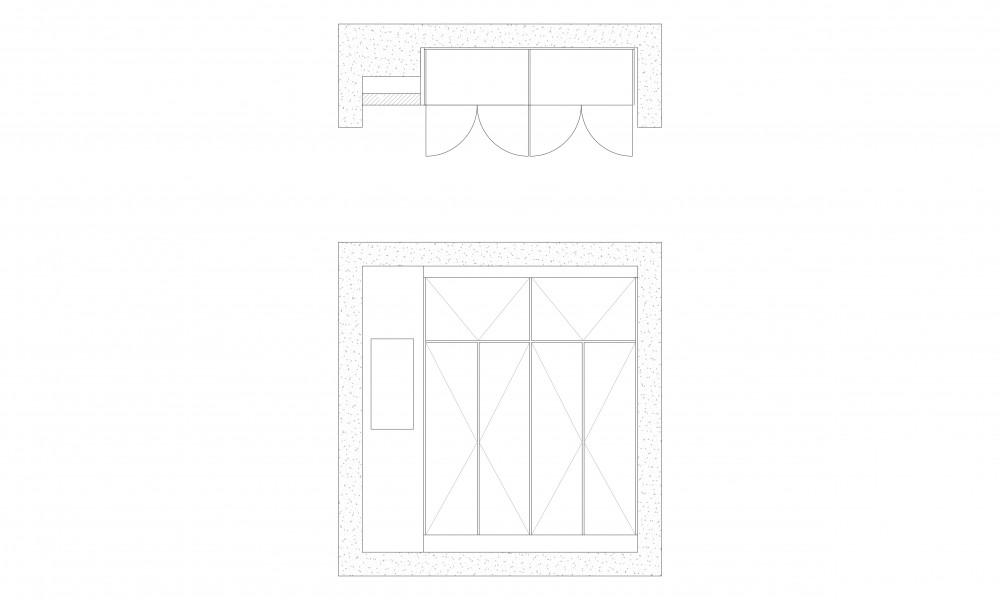Wardrobe drawing