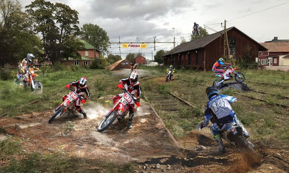 Tibro motor cross track