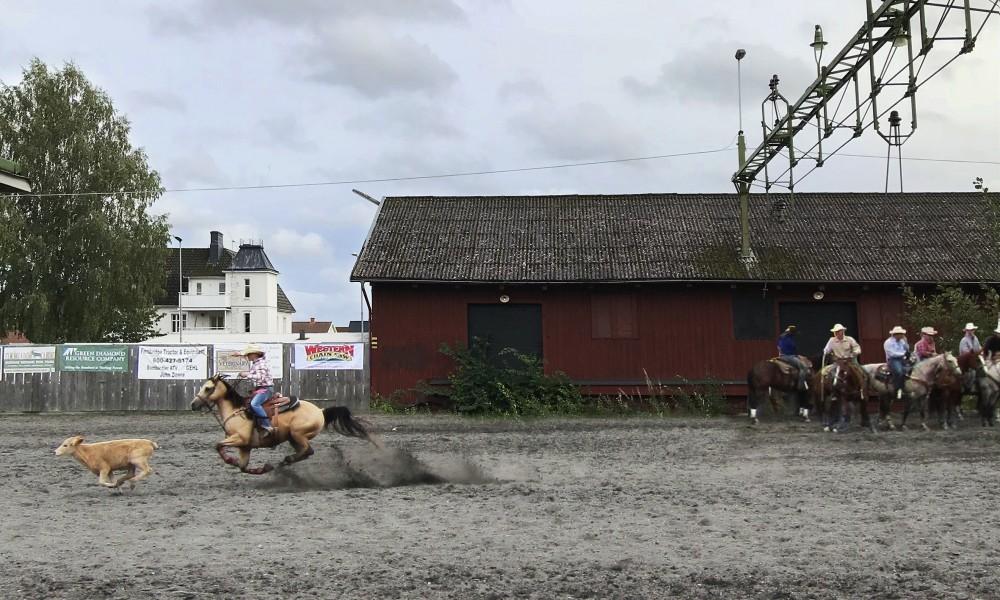 Tibro horse rodeo fields