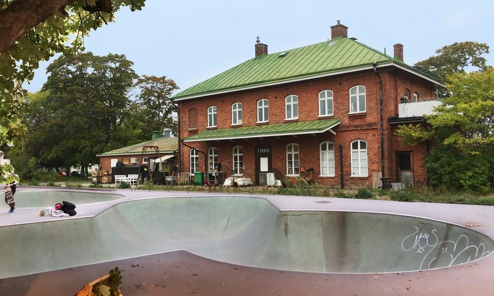 Tibro skate park