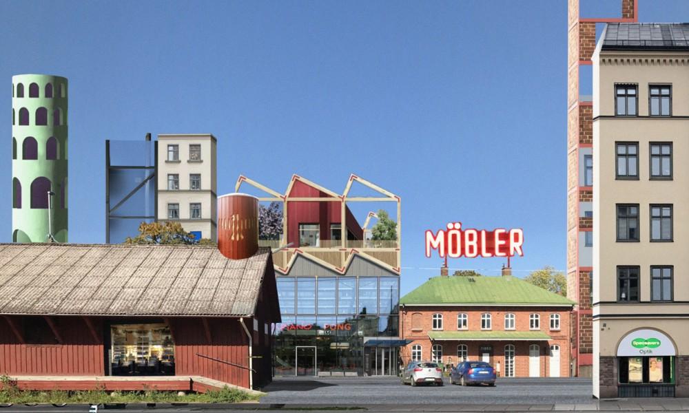 Tibro city center