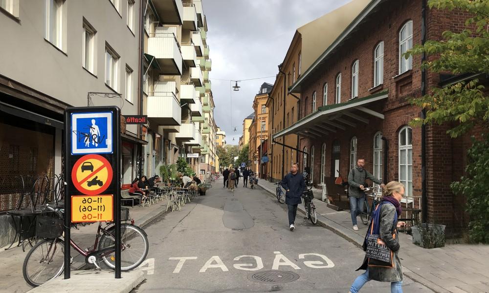 Tibro town street