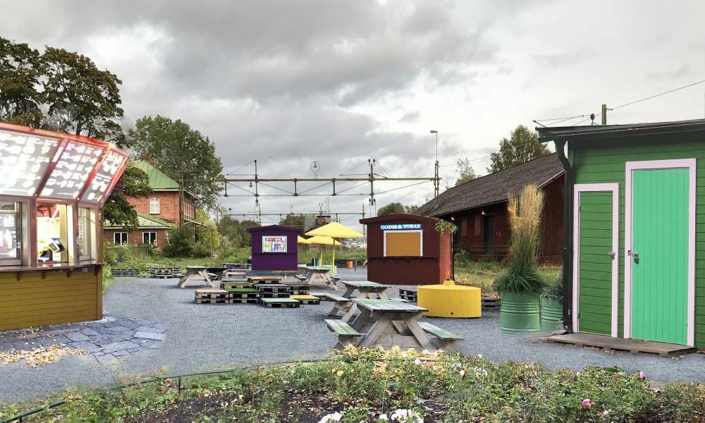 Tibro kiosk park