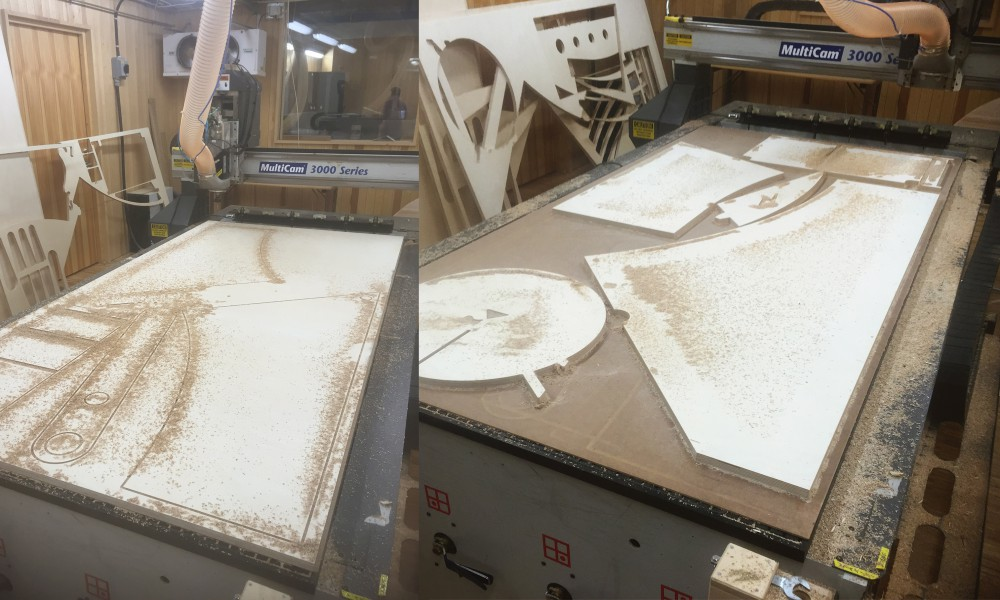 Milling the boards