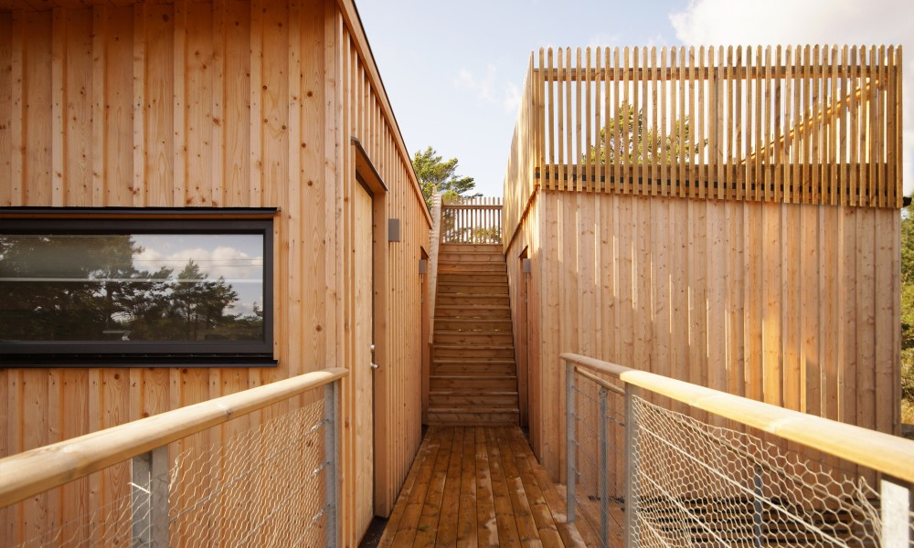 Guest house and sauna