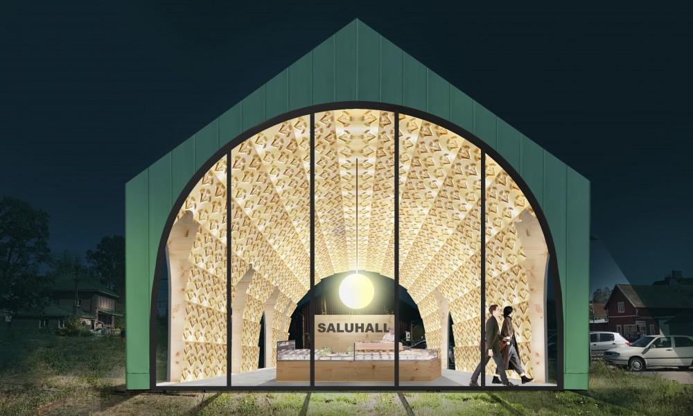 Proposal 10 Tibro Market Hall