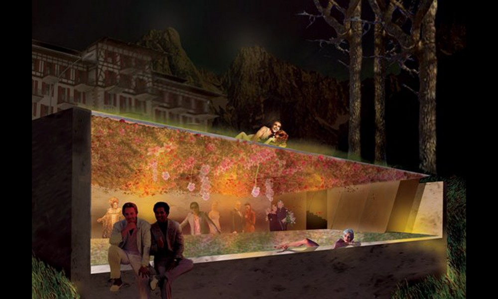 Nobel Savage. Competition for a pavilion in the Swiss Alps 2006