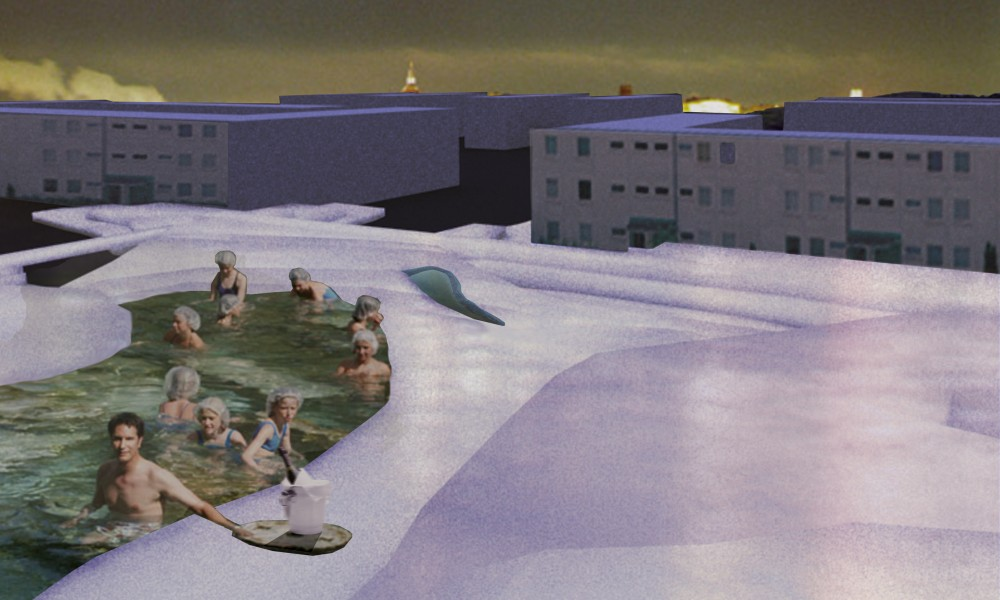 Pamukkale, A joyful proposal for the suburb Tensta in Stockholm 2006